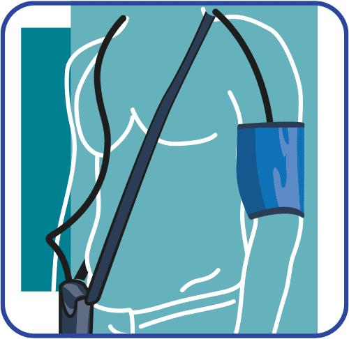 24-Stunden-Blutdruck-Arm