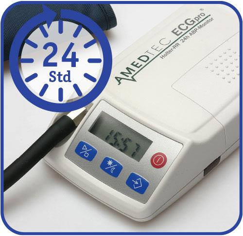 24-Stunden-Blutdruck-Gerät